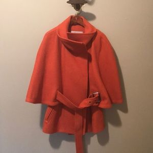 Andrew Marc Cape Coat!